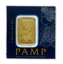 1 Gram .9999 PAMP Suisse - Snap Bar - Gold Bar