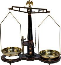 Early Countertop Balance Scale  -P-