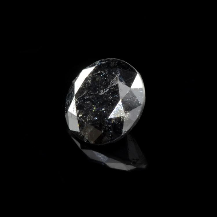 0.95CT Rare Black Diamond Gemstone