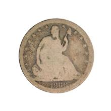 1866-S Liberty Seated Half Dollar Coin