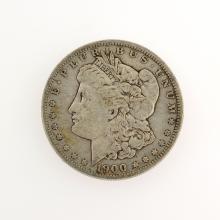 1900 Morgan Silver Dollar Coin