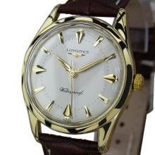 *Longines Swiss Made Men's Gold Capped 1960s Men's Manual Dress Watch (SI MX66)