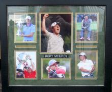 Rare Authentic Rory Mcllroy Autograph JSA Certified