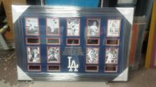 Dodgers Legends - Plate Signatures