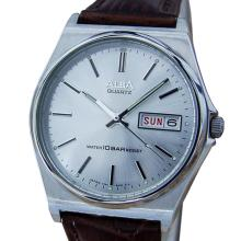 *Seiko Alba Rare 1980s Mens Stainless Steel Made in Japan Quartz Watch (SI W18)