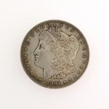1891 Morgan Silver Dollar Coin