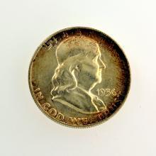 1956 Franklin Liberty Bell Half Dollar Coin