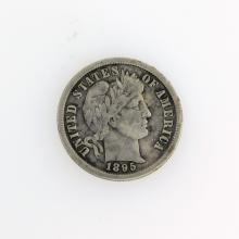 1895-S Barber Head Type Dime Coin
