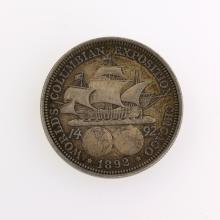 1892 Columbian Commemorative Half Dollar Coin