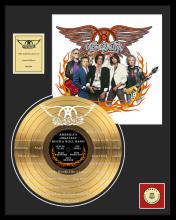 AEROSMITH ''America's Greatest Rock & Roll Band'' Gold LP