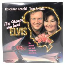 Rare Original Vintage Laser Disc ''The Woman Who Loved Elvis'' (Unopened)