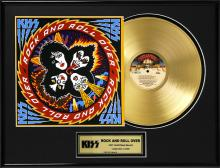 KISS ''Rock and Roll Over'' Gold LP