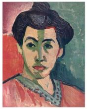Henri Matisse ''''087 Portrait With The Green Streak'''' 18 x 24 Paper Image