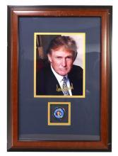 President Trump Autograph Guaranteed Authenic  -PNR-