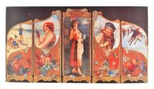 Collectable Coca Cola Advertising Poster (14'' x 7.5'') (Dimensions Are Approximate)