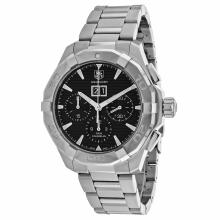 *Tag Heuer Men's Aquaracer Stainless Steel Case, Stainless Steel, Black Dial, Automatic Movement, Scratch Resistant Sapphire, Water Resistant (DM CAY211Z.BA0926)