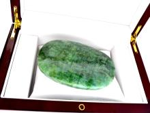 APP: 7.1k 1425.00CT Oval Cut Green Beryl Emerald Gemstone