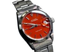 *Rolex OysterDate Precision Stainless Steel Boy Size Swiss Watch