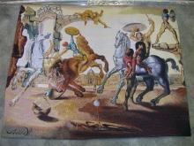 Dali Tapestry - Battle Around a Dandelion