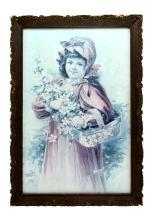 Rare 1920's Picture Frame