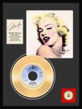 MARILYN MONROE ''Heat Wave'' Gold Record