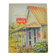 Collectable Coca Cola Advertising Poster (7.5'' x 9.5'')