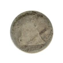 1861 Liberty Seated Quarter Dollar Coin