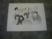Cheers by Al Hirschfeld