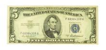 1953 $5 U.S. Silver Certificate
