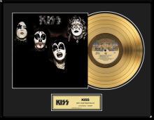 KISS ''KISS'' Gold LP
