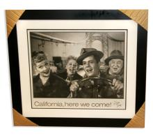 I Love Lucy - Museum Framed & Matted Lithograph ''California Here We Come''