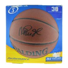 Very Rare Magic Johnson Signed Spalding Basketball