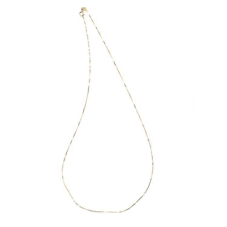 *Fine Jewelry 14KT Gold, 1.0GM, 18'' Chain (GL Neck 5A/5B)