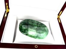 APP: 5.4k 1072.20CT Oval Cut Green Beryl Emerald Gemstone