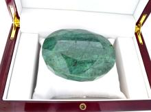 APP: 6.8k 1690.50CT Oval Cut Green Beryl Emerald Gemstone