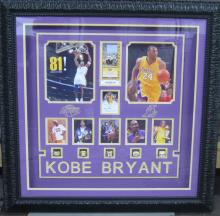 Authentic Kobe Bryant Autograph With Replica Rings