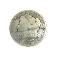 Rare 1879-CC Morgan Dollar Coin