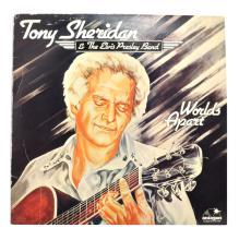 Rare Original Vintage Tony Sheridan & The Elvis Presley Band Album