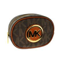 ^Brand New Michael Kors Fulton Brown Travel Pouch