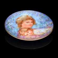 One of a Kind Painted Plate