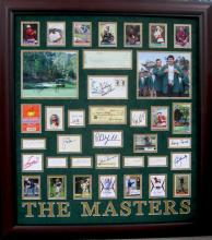 39 Autographs Masters Signatures
