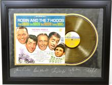 Ratpack Gold Record -P- Engraved Signatures