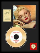 MARILYN MONROE ''Diamonds Are A Girls Best Friend'' Gold Record
