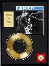 ELVIS PRESLEY ''Hound Dog'' Gold Record
