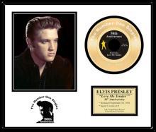 ELVIS PRESLEY ''Love Me Tender'' Gold 45-50th Anniversary