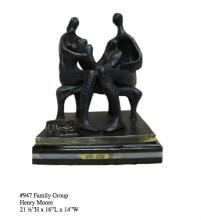Extremely Rare One of a Kind Henry Moore ''''Family Group'''' Reissue