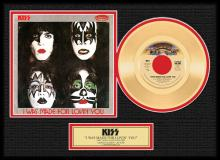 KISS ''I Was Made for Loving You'' Gold 45