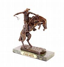 Wooly Chaps- By Frederic Remington- Bronze Reissue