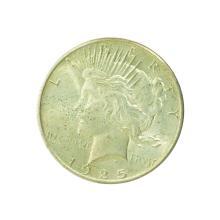 1925 Peace Silver Dollar Coin