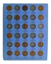 1909 To 1940 Lincoln Head Cent, Number One Coin Collection